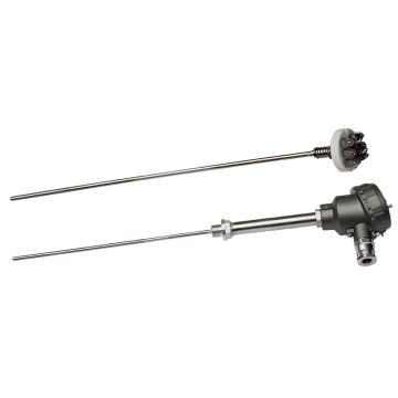 重庆川仪 铠装铂热电阻,WZGPK-33-P2AJ400G-M-2AM16 活动卡套螺纹