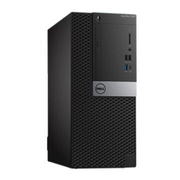 戴尔(DELL)台式机电脑,7060MT,I5-8500/4G/1TB/DVDRW/WIN10 Home