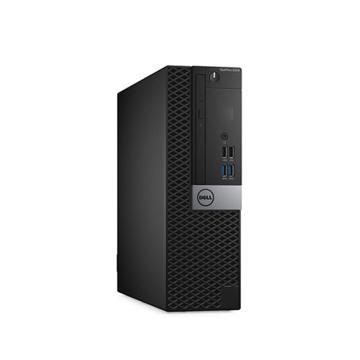 戴尔(DELL)台式机电脑,5050SFF,I5-7500/4G/1TB/DVDRW/WIn10 home