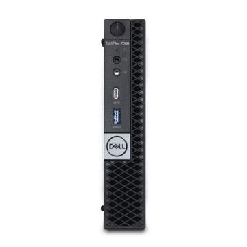 戴尔(DELL)台式机电脑,7060MFF,I5-8500T/8G*1 2666/256GSSD/蓝牙无线/WIN10 HOME64