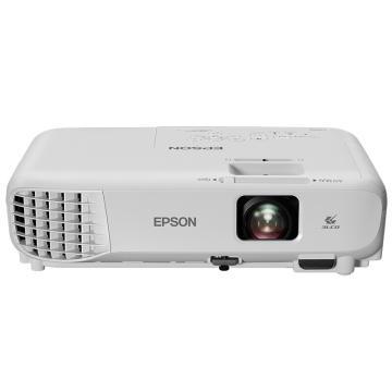 愛普生(EPSON)投影儀,CB-W05, 投影機辦公(高清寬屏 3300流明 支持左右梯形校正)
