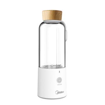 美的(Midea)迷你榨汁机,LZ209,料理机便携式 可当充电宝 果汁机 食品级材质随行杯