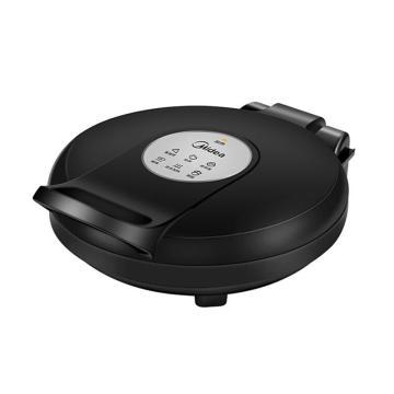 美的(Midea)双面悬浮煎烤机,1200W 30cm 家用电饼铛, JHN30E 黑色