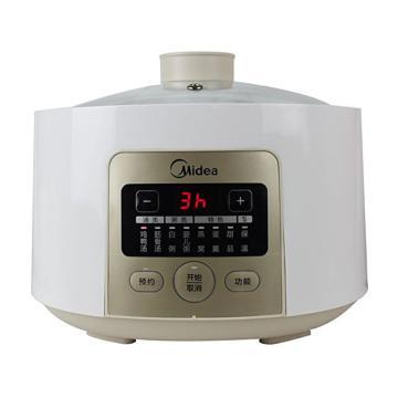 美的(Midea)電燉鍋,BZS16K, 煲湯 電砂鍋 全自動 燉盅 一鍋三膽