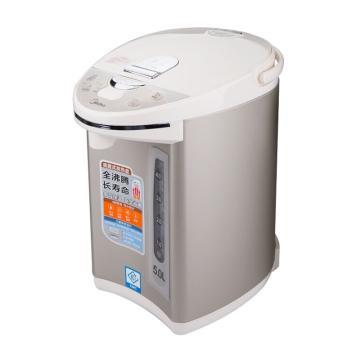 美的(Midea)电热水瓶,PF702-50T,304不锈钢四段,保温家用电水壶,5L大容量烧水壶
