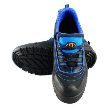 优工 运动安全鞋,PAD-U1720BU-35,多彩系列防砸防刺穿安全鞋