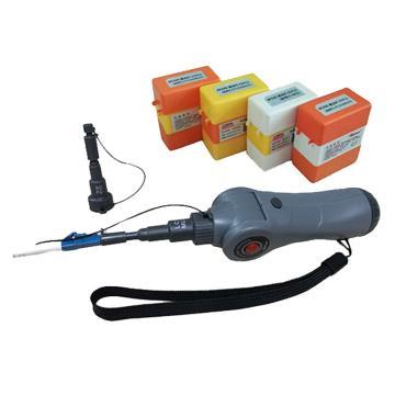 亿天龙光纤电动清洁器,EDV-838 标配内含EDV-F15*20支,EDV-F25*30支