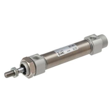 SMC 标准型气缸,单作用,弹簧压出型,CDM2B40-50TZ