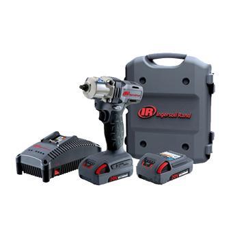"""英格索兰Ingersoll Rand1/2"""" 20V锂电冲击扳手,W5150-K22-CN,电动工具充电扳手"""