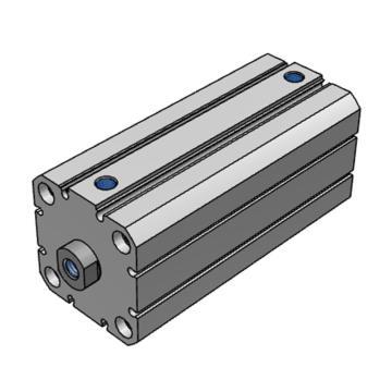 SMC 薄型气缸,单杆双作用,C55B25-5M