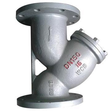 凯斯特 碳钢法兰过滤器,GL41Y-16C,DN50