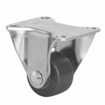 易得力(EDL) 定向聚氨酯(PU)脚轮,脚轮小型1寸30kg,20101-201-72