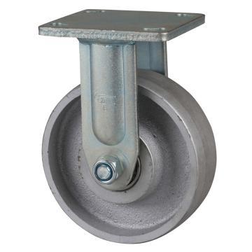 易得力(EDL) 定向铸铁(CastIron)脚轮,脚轮重型6寸950kg,78106-786-96