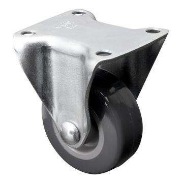易得力(EDL) 定向聚氨酯(PU)脚轮,脚轮小型1.5寸30kg,201015-2015-72