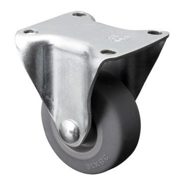易得力(EDL) 定向超级人造胶(TPE)脚轮,脚轮小型1.5寸30kg,201015-2015-52
