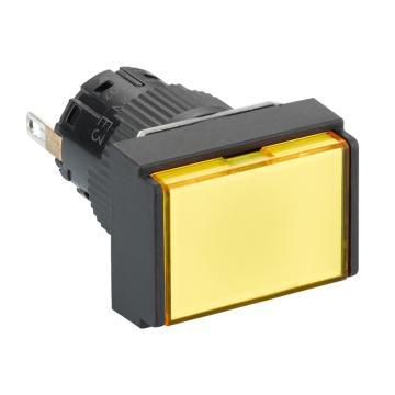 施耐德Schneider 指示灯,长方形 黄色 带24V LED,XB6EDV5BF(5的倍数订货)