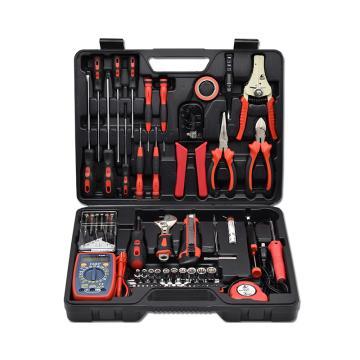 卡夫威尔 电子电工工具套装,63件套,C9003A,电讯工具箱
