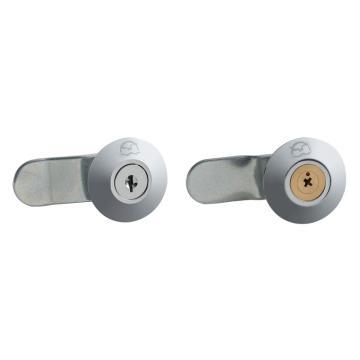 恒珠 转舌锁,机柜锁通开,十字铜锁芯,MS401-2,K8180