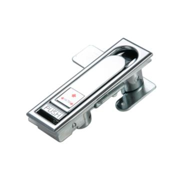 恒珠 平面锁,MS104L,左手锁,镀亮铬