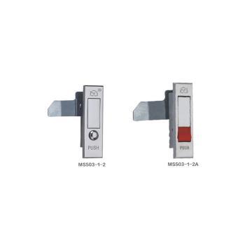 恒珠 平面锁,MS503-1-2,左,镀亮铬