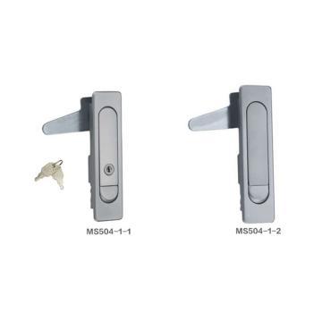 恒珠 平面锁,MS504-1-1,带钥匙,镀沙铬