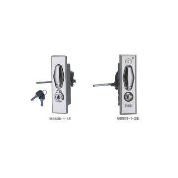 恒珠 平面锁,MS505-1-2,左,镀亮铬