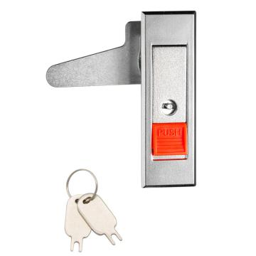 恒珠 平面锁,MS603-2A-1R,喷沙镀铬