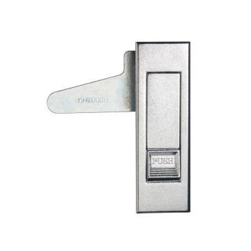 恒珠 平面锁,MS603-3-2W,白按钮,无锁芯,喷沙镀铬
