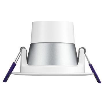 公牛 LED筒燈,3.5W黃光開孔尺寸Φ80mm,MT-A13R51一體白色筒燈30K 3寸,15200105,單位:個