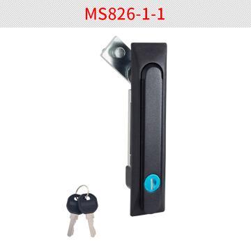 恒珠 平面鎖,MS826-1-1,黑色