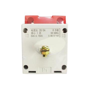 德力西DELIXI LMK電流互感器,LMK(BH)0.66 40/5 5-3.75VA一次外接式0.5級,LMKYC5405M8