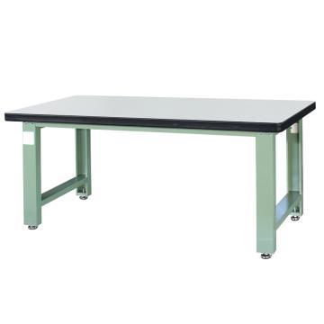 信高(xingo) 重型定制工作台,2100*750*800 绿色台面(防火板台面),XFK-2100,不含安装费