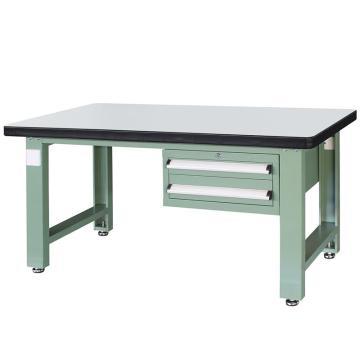 信高(xingo) 重型定制工作台,1800*750*800 绿色台面(防火板台面),XFK-1820,不含安装费