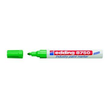艾迪 金属油漆笔,绿色 EDDING8750