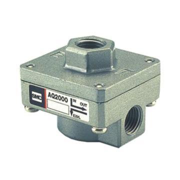 SMC AQ系列快速排气阀,螺纹连接,AQ2000-02-L
