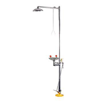 博化 复合式冲淋洗眼器-标准型,304不锈钢,XY0201-1018