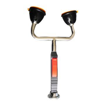 博化 台式双口洗眼器,304不锈钢,XY35-4022