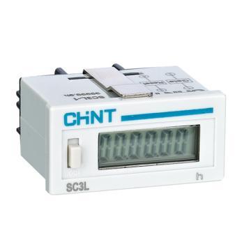正泰CHINT SC3L电子式累时器,SC3L-1 99999.9h