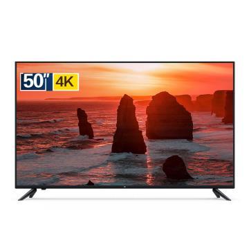 小米 电视,C 50英寸 L50M5-AD 2GB+8GB HDR 4K超高清 蓝牙语音遥控 人工智能语音网络液晶平板电视
