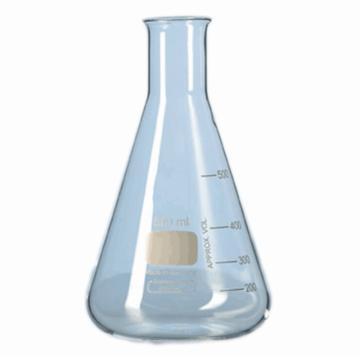 SYSBERY,普口三角烧瓶,500ml,透明,高硼硅玻璃,6只/盒