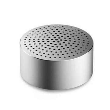 小米 随身蓝牙音箱,随身Mini 迷你无线蓝牙便携音箱 金属银