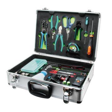 寶工Pro'sKit 寶工鐵翼工具組套,21件套,PK-9471-TY,FTTx專業光纖工具組