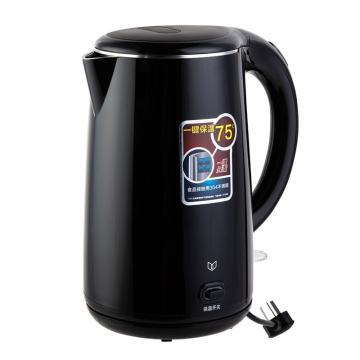 得力 电热水壶(黑),85609,单位:个