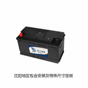 三冠 电动道路车辆用蓄电池,额定电压(V)12  额定容量(Ah)80,8-QW-80,块
