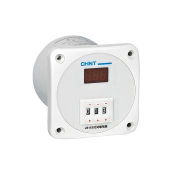 正泰CHINT JS11S系列时间继电器,JS11S 99h59min AC220V