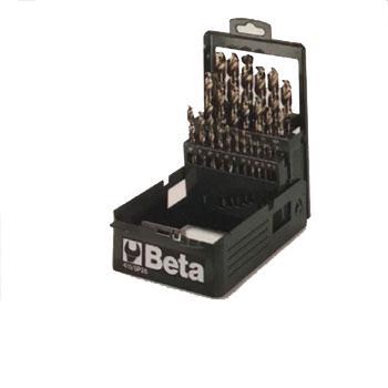 百塔Beta 麻花钻头组套,25件套,004151425