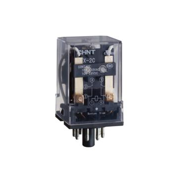正泰CHINT JTX小型电磁继电器,JTX-2C AC12V
