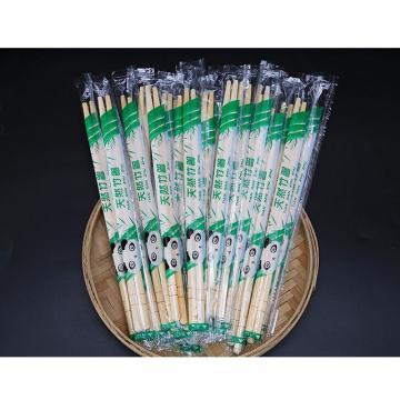 一次性竹筷1600雙(直徑5mm 長20cm)20包/箱 帶牙簽