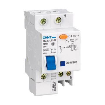 正泰CHINT 微型剩余电流保护断路器 DZ47LE-32 3P 6A C型 30mA AC