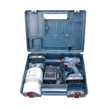"""博世BOSCH 锂电充电式冲击扳手机,两电一充,1/4""""内六角,1/2""""方形,GDX 180-LI,06019G5280"""